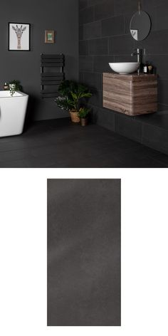Add a suave and sophisticated appearance to your floor areas with these stylish Black Matt Porcelain Tiles. They belong to our collection of Salon Porcelain Tiles. Rectangular in shape, they have a soft matt finish and a gripping anti-slip rating.