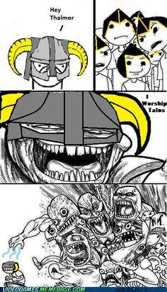 video game memes - Praise Talos