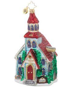 Christopher Radko Winter Worship Ornament