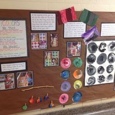 Inquiring Minds: Mrs. Myers' Kindergarten: Documentation of Our Color Inquiry