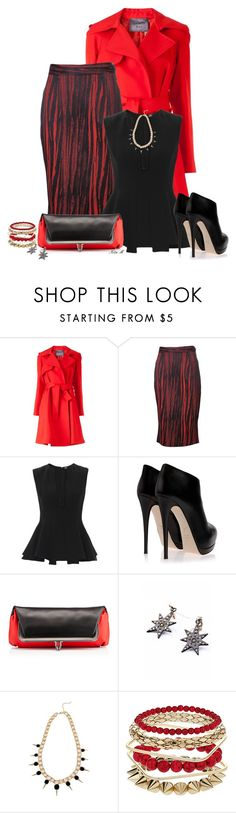 """""""Vivienne Westwood Anglomania Pencil Skirt"""" by mz-happy ❤ liked on Polyvore featuring Lanvin, Vivienne Westwood Anglomania, Alexander McQueen, Giuseppe Zanotti, Christian Louboutin and Dorothy Perkins"""