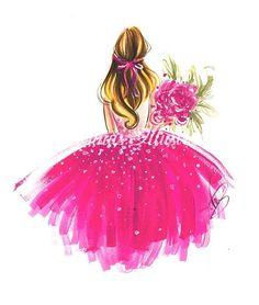 "Princess art, Fashion illustration, Fashion art, Fashion wall art, Fashion sketch, Princess drawing,Watercolor painting,Princess painting  Available sizes:  13x18cm(5.1""x7.1"") 18x24cm(7.1""x9.4"") 21x30cm(8.3""x11.8"") 30x40cm(11.8x15.7) She is also available in bigger poster sizes Dancing Drawings, Bff Drawings, Face Sketch, Fashion Wall Art, Poster Sizes, Princess Painting, Princess Art, Illustration Fashion, Illustration Art"