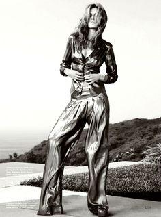 Cindy Crawford by Nino Muñoz for California Style December 2013