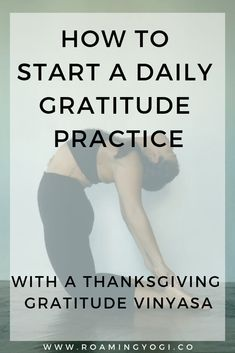 Thanksgiving is the perfect time to start a daily gratitude practice. Read about why gratitude is so powerful, and how to practice gratitude daily! Yoga Sequences, Yoga Poses, Yoga For Beginners Flexibility, Yoga For Balance, Physical Stress, Cardio Routine, Practice Gratitude, Yoga At Home, Online Yoga