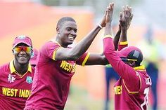 World Cup 2015: Bowlers shine as West Indies beat UAE by six wickets in ICC World Cup Pool A, Match 41 on 15/03/2015.Opting to field after winning the toss, Holder (4/27) got useful support from fellow fast medium bowler Jerome Taylor, who returned figures of 3/36, to help West Indies bundle out UAE for a paltry 175 in 47.4 overs. West Indies made 176 in 30.3 overs losing 4 wickets only.