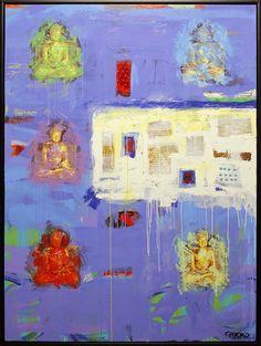 Zen by Chicho Various Artists, Zen, Art Gallery, Painting, Art Museum, Painting Art, Paintings, Painted Canvas, Drawings