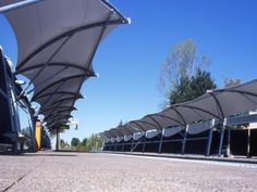 fabric architecture, tensile structure, metal-textile architecture, membrane, fabric