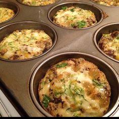 Clean eating veggie egg muffins