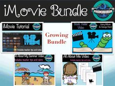 iMovie Bundle for all grades and subjects!