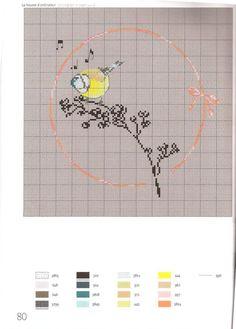 Gallery.ru / Фото #45 - Helene Le Berre - Les oiseaux a broder - velvetstreak