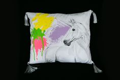 Unicorn, Textiles, Throw Pillows, Shirts, Toss Pillows, Cushions, A Unicorn, Decorative Pillows, Fabrics