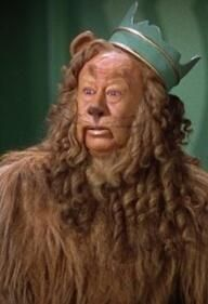 The Wizard of Oz ~ Bert Lahr as The Cowardly Lion