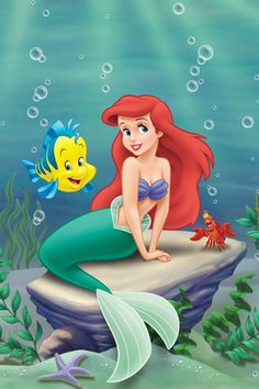 Princess Ariel: The ultimate story of changing for your man, a royal mermaid falls in love with a human and goes to a powerful sorceress to trade her fins for legs to be part of his world. (The Little Mermaid, 1989, Ron Clements & John Musker. Voiced by Jodi Benson.)
