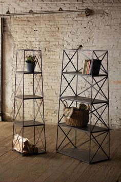4 TIER IRON TOWER SHELF