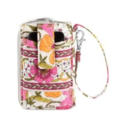 Carry It All Wristlet | Vera Bradley    ***tea garden, happy snails, very berry paisley, mocha rouge, folkloric