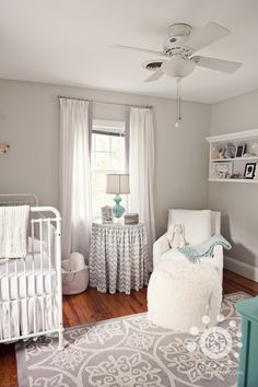Nursery in Gray and WHite