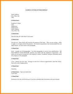 Sample Application Letter Format Download Documents Pdf Word