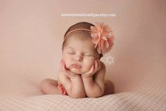 56024594490cb Baby Headband Mini Chiffon And Lace Flower Headband Newborn Photo Prop  Available in Tons of Colors