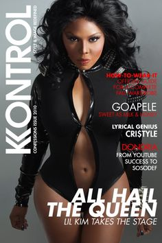 Lil Kim....she has had waaaaaay too much plastics done. She use to be cute as a button.