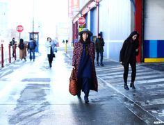 Statement Coat at New York Fashion Week F/W 2014-15