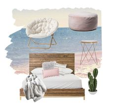 Modern Comfy by tory-gs on Polyvore featuring polyvore, interior, interiors, interior design, home, home decor, interior decorating, PBteen, Abigail Ahern, Sky, bedroom, modern, beautiful and vibes