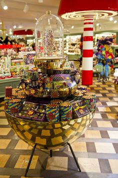 Candy Store, Fourth Floor, Harrods