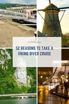 52 Reasons to Take a Viking River Cruise. We are shedding some light on what makes Viking Cruises so spectacular and why the river cruises are so magical. Rhine River Cruise, 52 Reasons, Viking River, Cruise Travel, Cruise Tips, Us Sailing, Play Therapy, Therapy Activities, Speech Therapy