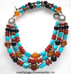 Necklace (text is in cyrillic)