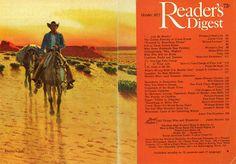 Western Photo, Newspaper Headlines, Readers Digest, Vintage Pictures, Magazine Design, The Life, Cool Artwork, Cover Art, Vintage Art