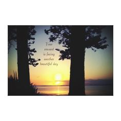 Photo Scenery Reward Quote by Kat Worth Canvas Print - unusual diy cyo customize special gift