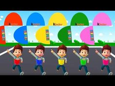 Colors for Children to Learn with Ryder Paw Patrol, Colours for Kids to ...