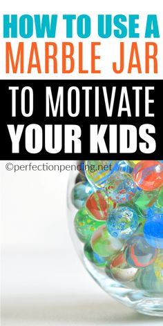 We are all looking for positive parenting solutions, and we have a unique way to motivate good behavior and reward it, using a marble jar instead of a reward chart. This works great for preschoolers and elementary aged kids. Reward System For Kids, Reward Chart Kids, Kids Rewards, Rewards Chart, Positive Behavior Chart, Behaviour Chart, Behavior System, Kids Behavior, Positive Parenting Solutions