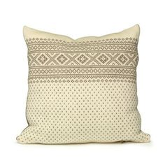 Pillows with the norwegian setesdals pattern, from www.purnorsk.no   My mother knitted pillows like these for me.