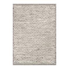 Asko Light Grey/Natural Wool Rug