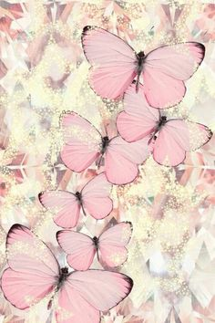 Imagen de butterfly, pink, and wallpaper Butterfly Painting, Butterfly Wallpaper, Pink Butterfly, Butterfly Background, Butterfly Kisses, Decoupage Vintage, Decoupage Paper, Decoupage Drawers, Decoupage Glass