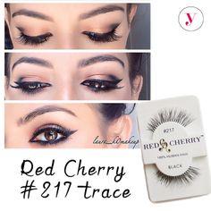 Per occhi da vera gatta #RedCherry 217 http://www.vanitylovers.com/redcherry-eyelashes-217-trace.html?utm_source=pinterest.com&utm_medium=post&utm_content=vanity-lovers-red-cherry-217&utm_campaign=pin-vanity