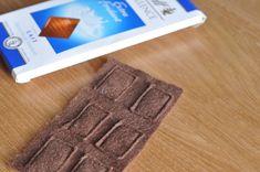 La chocolat en feutrine