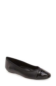 VANELi 'Sitta' Cap Toe Ballet Flat (Women)