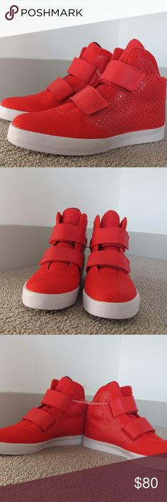 3ab18ce4de670e Size 10.5   11 Nike Air 2K3 Flystepper Red White New without box. Never worn