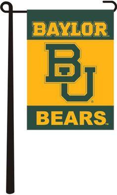 Baylor Bears Garden Flag http://www.rallyhouse.com/shop/baylor-bears-baylor-bears-garden-flag-2800145 $12.95