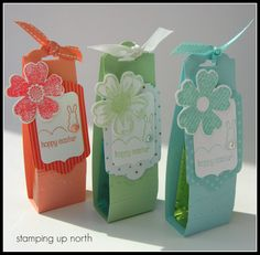stamping up north: 3-D items
