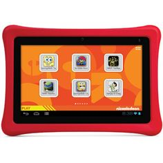 "Christmas 2014 for our granddaughter. Nabi 2 Nickelodeon Edition 7"" Tablet 8GB Memory + 2 Year Drop, Spill and Cracked Screen Service Plan"