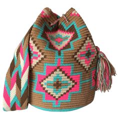 LARGE Double Thread Wayuu Mochila Bag made in the desert of La Guajira, Colombia with love | RETAIL + WHOLESALE | Handmade and Fair Trade Wayuu Mochila Bags LOMBIA & CO. |www.LombiaAndCo.com