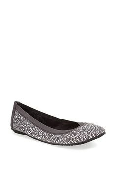 Footzyfolds 'Crystal' Flat available at #Nordstrom In beige $125