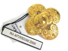 eLADY global accepts returns within 14 days, no matter what the reason! Chanel Broach Metal Gold(BF063215)
