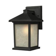 Z-Lite 507M-BK Holbrook Outdoor Wall Light