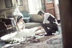 Korean Wedding Photo Concept
