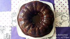 Chocolate Sour Cream Bundt Cake - Los Antojitos de María