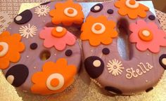 Sixties flower power cake by Flour Power Guernsey