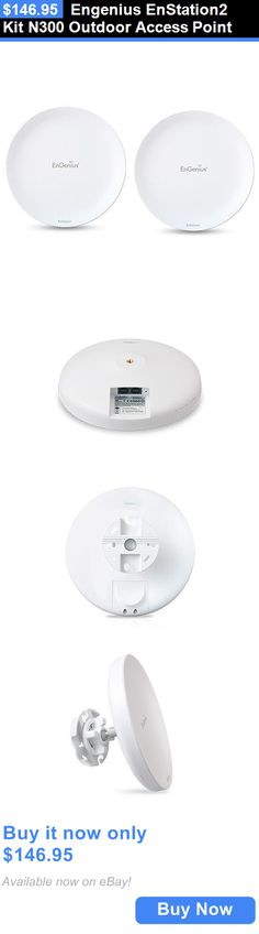Other Radio Antennas: Engenius Enstation2 Kit N300 Outdoor Access Point BUY IT NOW ONLY: $146.95
